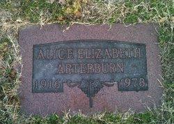 Alice E Arterburn