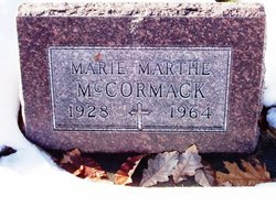 Marie Marthe <I>Marchand</I> McCormack