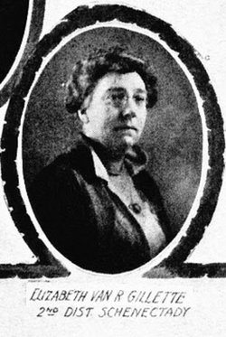 "Dr Elizabeth Van Rensselaer ""Bessie"" Gillette"