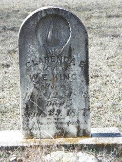 Clarinda E <I>Peyton</I> King