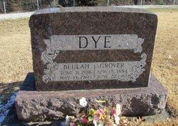 Beulah Etta <I>Feltman</I> Dye