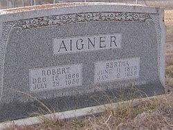Bertha <I>Maas</I> Aigner