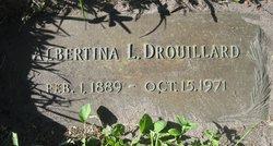 "Albertina L ""Tena"" <I>Berndt</I> Drouillard"