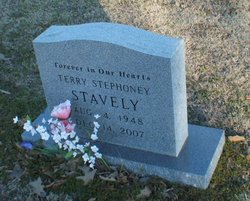 Terry Stephoney <I>Hardy</I> Stavely