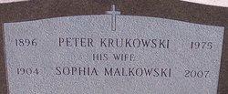 Sophia <I>Malkowski</I> Krukowski