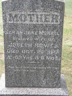 Sarah Jane <I>McNally</I> Howes