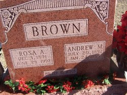 "Rosa Angeline ""Rosie"" <I>Whiteley</I> Brown"
