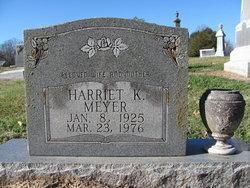 Harriet K. Meyer