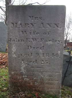Mary Ann <I>Hall</I> Farley