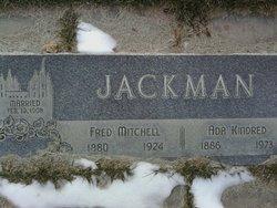"""Fredrick Mitchell """"Fred"""" Jackman"""