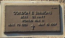 Gordon E Simmons