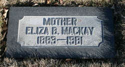 Eliza Ann <I>Bawden</I> Mackay