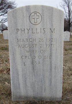 Phyllis Maurine <I>Booton</I> Bie