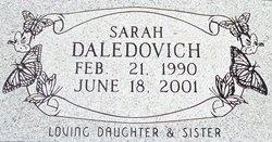 Sarah Michelle Daledovich