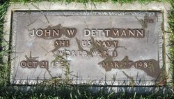 John W Dettmann
