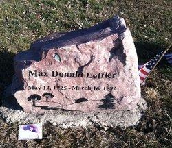 Max D Leffler