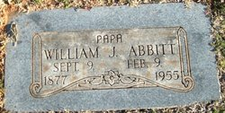 "William Jasper ""Will"" Abbitt"