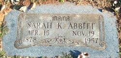 Sarah Katherine <I>Aston</I> Abbitt