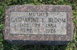 Catherine E <I>Scull</I> Bloom