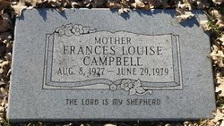 Francis Louise <I>Wisdom</I> Campbell