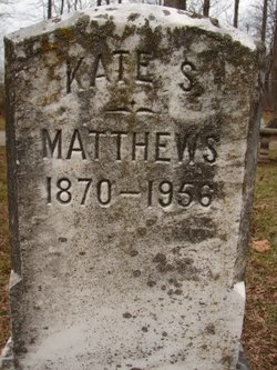Kate S Matthews