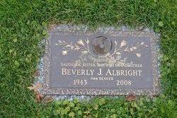 Beverly J <I>Beaver</I> Albright