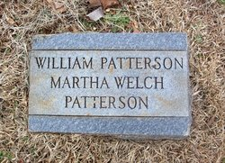 Martha <I>Welch</I> Patterson
