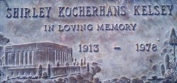 Shirley <I>Kocherhans</I> Kelsey