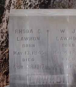 Rhoda Caroline <I>Gardner</I> Lawhon