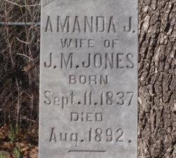 Amanda Jane <I>Hayes</I> Jones