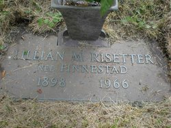 Lillian May <I>Finnestad</I> Risetter