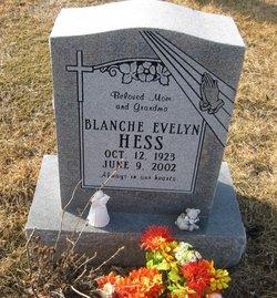 Blanche Evelyn <I>Reedy</I> Hess