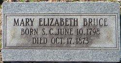 Mary Elizabeth <I>Armstrong</I> Bruce