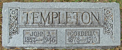 Cordelia <I>Hicks</I> Templeton