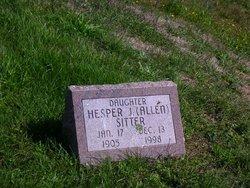 Hesper Jaquith <I>Allen</I> Sitter