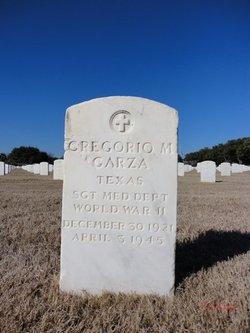 Gregorio M Garza