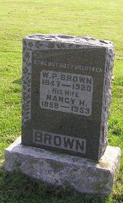 Nancy Helen <I>Shacklett</I> Brown