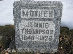 Sarah Jennie <I>Watrous</I> Thompson