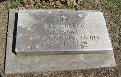 Pvt Lee Culver