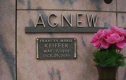 Frances Marie <I>Keiffer</I> Agnew