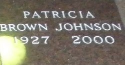 Patricia <I>Brown</I> Johnson
