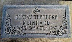 """Gustav Theodore """"G.T."""" Reinhard"""