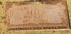 Nancy <I>Hannan</I> Allen
