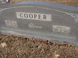 Vera <I>Leftwich</I> Cooper