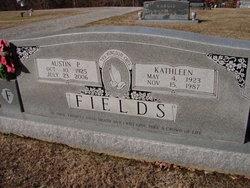 Sarah Kathleen <I>Robinson</I> Fields