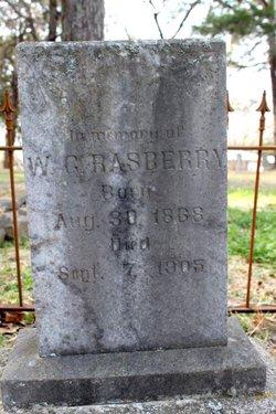 William G Rasberry