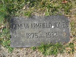 Geneva C. <I>Armfield</I> Jones