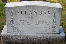 Ellen Florence <I>Dunkle</I> Allandar