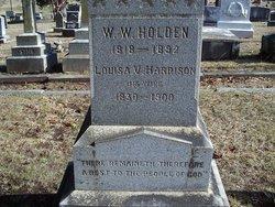 Louisa Virginia <I>Harrison</I> Holden