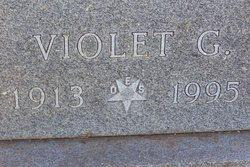 Violet Gertrude <I>Benson</I> Buttry